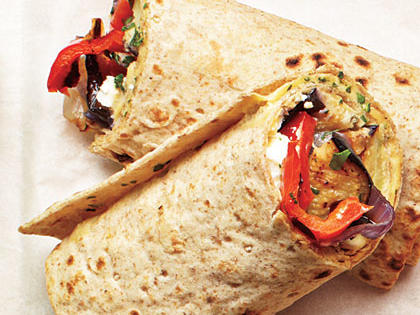 grılled CHICKEN wrap