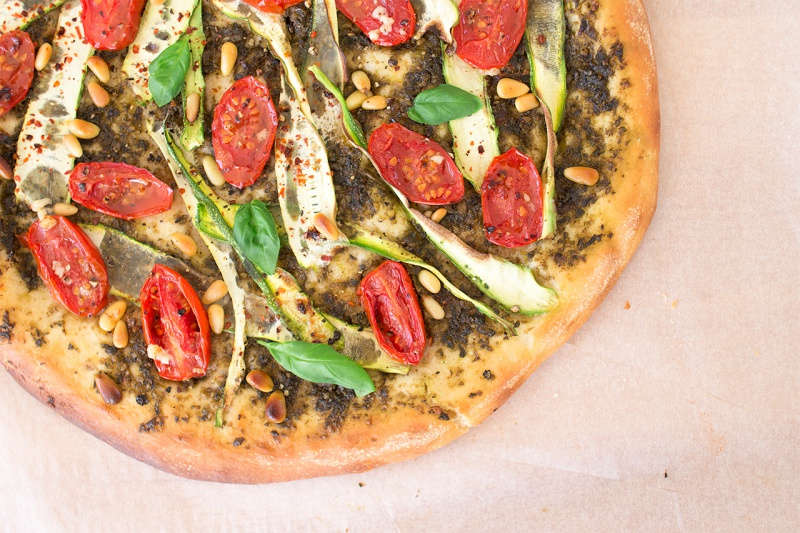 Pesto VEGAN Pizza